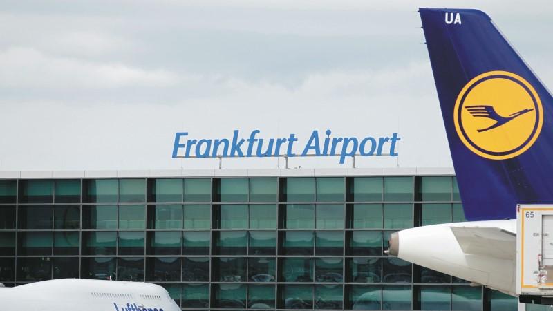 Flughafen Frankfurt, Fraport, Lufthansa, Heckflückel