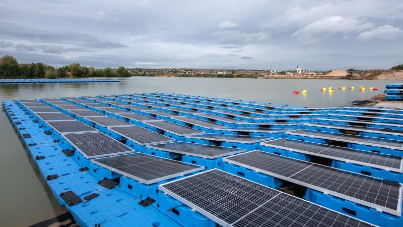 Photovoltaikanlage_Dettelbach_Baggersee_Heidelberger_Sand_und_Kies